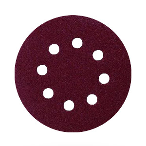 100 B Grit Velcro backed sanding discs for random orbit sanders 150mm