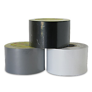 50mm x 33m Genuine Low Tack PVC Non Residue Black