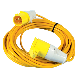 Extension Leads - 16amp  - 110v - 1.5mm x 14m