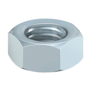 M6 Nuts, Hexagon nuts, Bright Zinc Plated