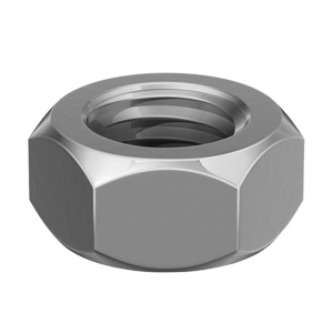 M10 Hexagon nuts, stainless steel