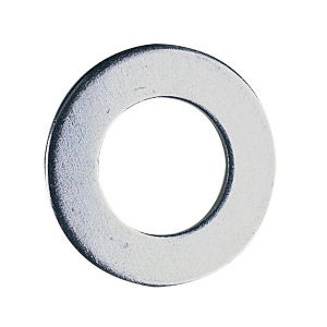 M5/2BA Plain Washers, bright zinc plated