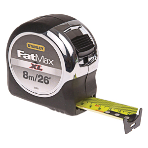 Stanley Fatmax XL Extreme Tape Measure - 8m