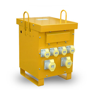10Kva Site Transformer With Metal Casing - 2 32amp & 4 x 16amp Sockets