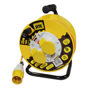 Contractor Anti-Twist CableReel 110V 50m