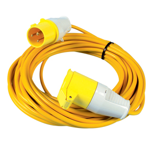 Length 14m Extension Leads, 110v 1.5mm 16amp