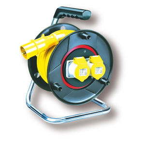 Length 25m (Anti Twist) Cable Reels, 240v