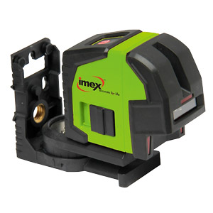 Imex LX22 Cross Line Laser Level with Plumb Spot Comes With Tripod