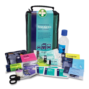 Travel First Aid Kit Nylon Case BS8599