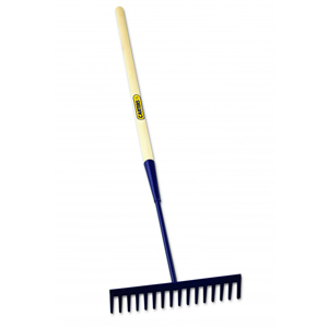 Asphalt Rake With Hardwood Handle