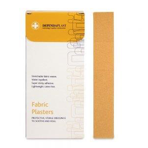 Fabric Plasters - Assorted Sizes - Box of 100