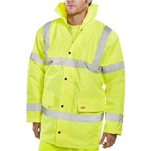 Yellow Hi-Vis Jacket S