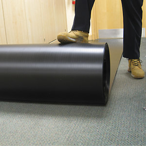 Swiftguard Floor Protection Rolls - Transluscent - 1 x 50m