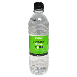 Bryson Bottled Spring Water - 500ml - Case of 24