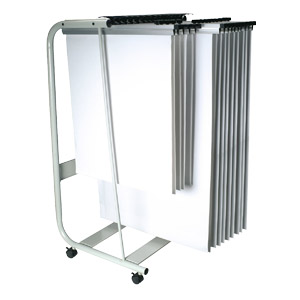 A1/A0 Q Connect Hanger Trolley Stand
