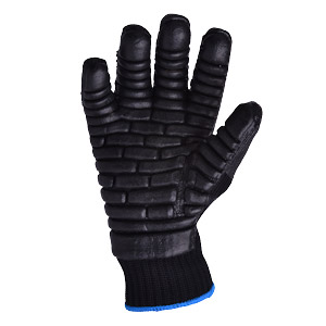 Polyco Tremor Low Gloves - Black - Size 9/Large