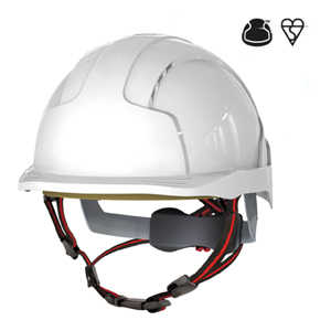 EVOlite Skyworker Industrial Climbing Helmet - White