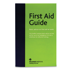 Reliance First Aid Guidance Leaflet (Green) - Pack 50