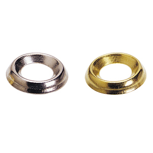 Screw Cups - Nickel Plated - Number 7-8 - Box of 200