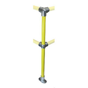 FastKlamp 404Y - Safety Post - 90° Corner Yellow C42