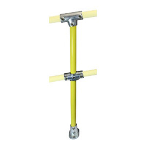 FastKlamp  406 Y- Mid Post for Ramp (0°-11°) Yellow C42