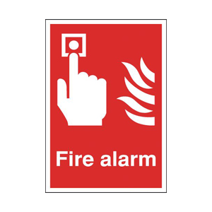 100x200mm Fire Alarm - Rigid