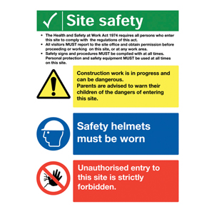 Construction Signs & Scafftag