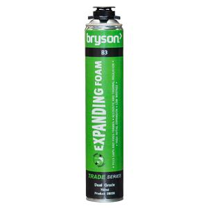 Bryson Trade Series Dual Grade B3 Expanding Foam - 750ml
