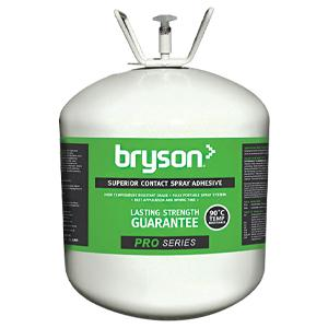 Bryson Pro Series High Temp Superior Contact Spray Adhesive - 22L