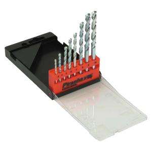 Masonry Drill Bit Set of 8 in Case 3.0-10.0mm