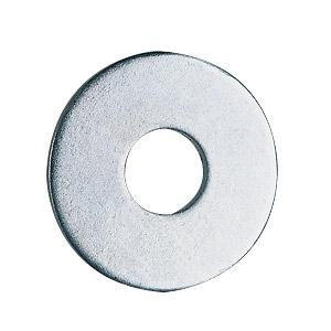 Penny Washers - Bright Zinc Plated - M6 x 30 - Pack of 100