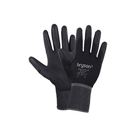 Bryson Close Fit Gloves - Black - Large Size 9 Pack 10
