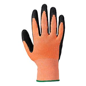 Colour Coded Cut Resistant Nitrile Foam Glove - Amber/Cut 3 - Size 9/Large