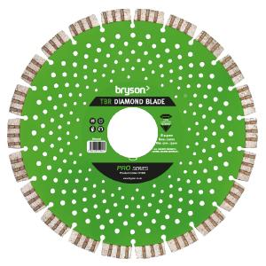 Bryson Pro Series TBR Diamond Blade dia 230mm x bore 22mm