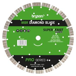 Bryson Pro Series+ MBR Diamond Blade dia 230mm - bore 22mm