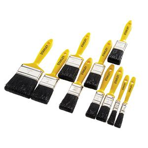 Stanley Paint Brush Set - 12 to 75mm - 10 Piece