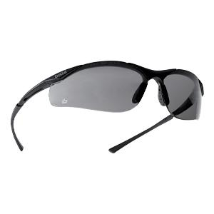 Bolle Contour Scratch Resistant Safety Glasses - Smoke