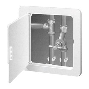 Plastic Access Panel with Hinged Door - Keylockable - 300 x 300mm