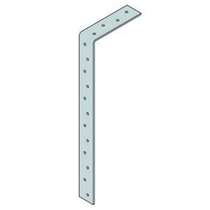 Light Duty Restraint Strap - Galvanised - 1200mm Bent @ 100mm