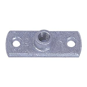 Pipe Clamp Backplates - Galvanised - M10 - Box of 100