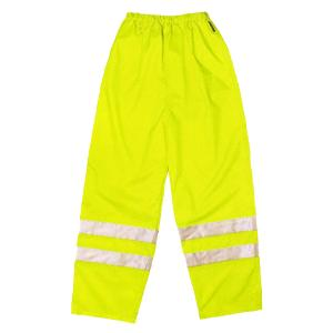Hi Vis Over Trousers Yellow - XL