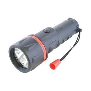 LED Rubber Torch 2xD