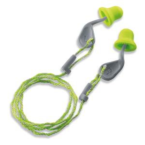 Uvex Xact-Fit Ear Plugs Corded 100prs 2112.101