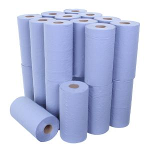 2 Ply Hygiene Roll 24cmx46m Blue