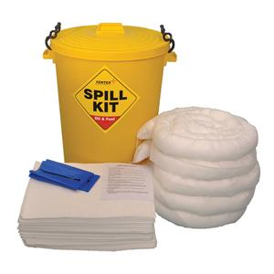 Chemical Spill Kit 90L Bin