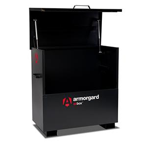 Armorgard oxbox site chest, External: 1210x640x1175 Internal: 1125x565x1090