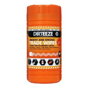 Dirteeze Jumbo Smooth & Strong Cloths 30 x 20cm - Tub of 80