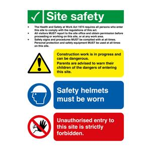 800x600 Site Safety - Legal Text