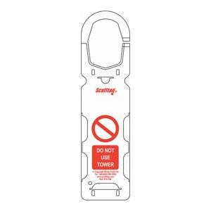 Scafftag Towertag Holders Pack of 10
