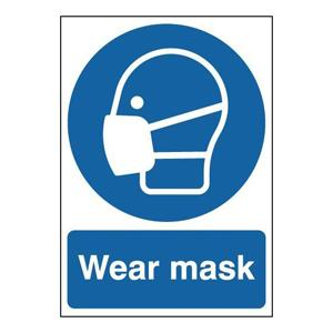 297x210mm Wear Mask - Rigid